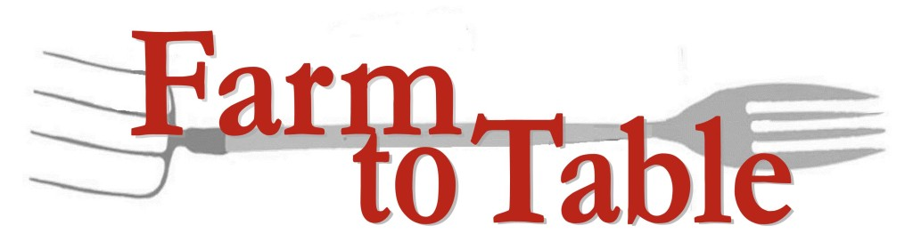 Farm to Table Red Logo