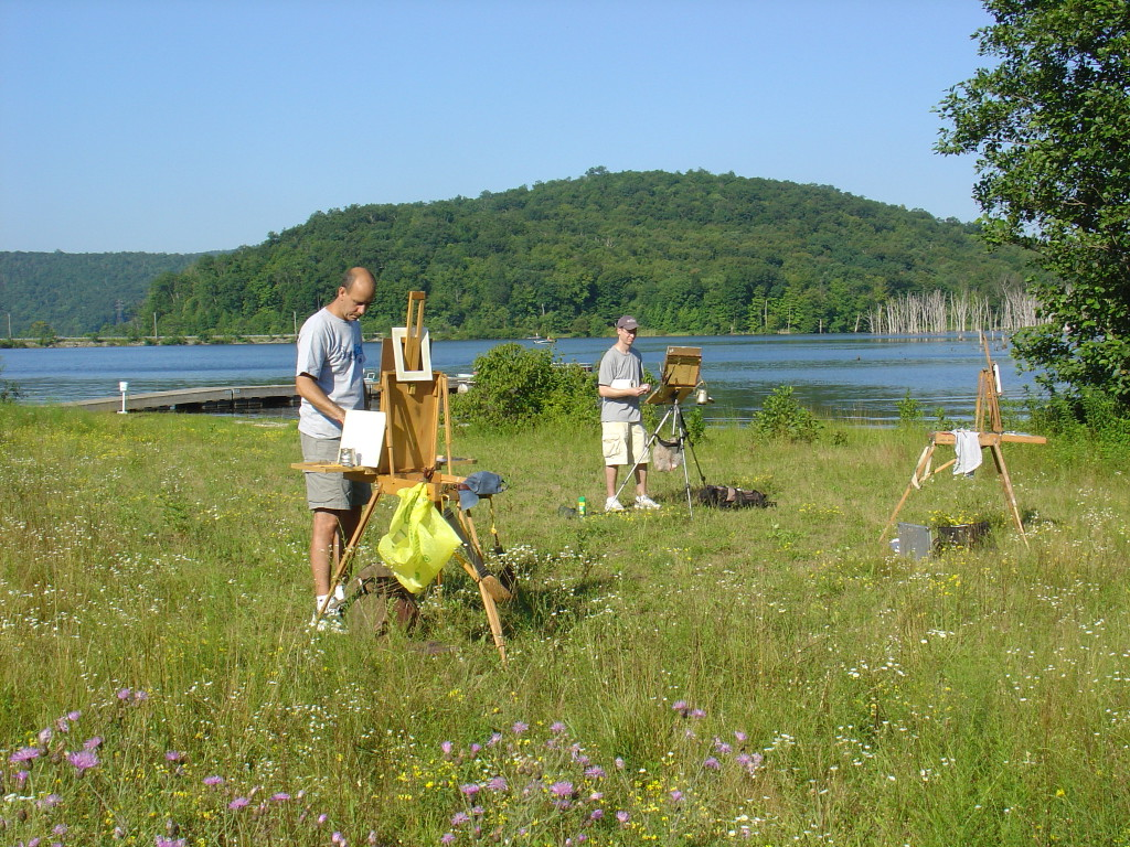 Plein_Air_Painters_at_Long_Pond,_Ringwood,_NJ